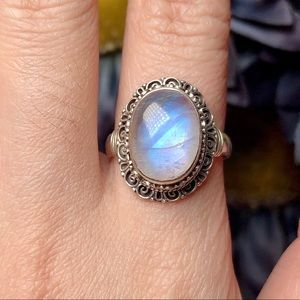 ‼️Clearance‼️Sterling silver moonstone ring